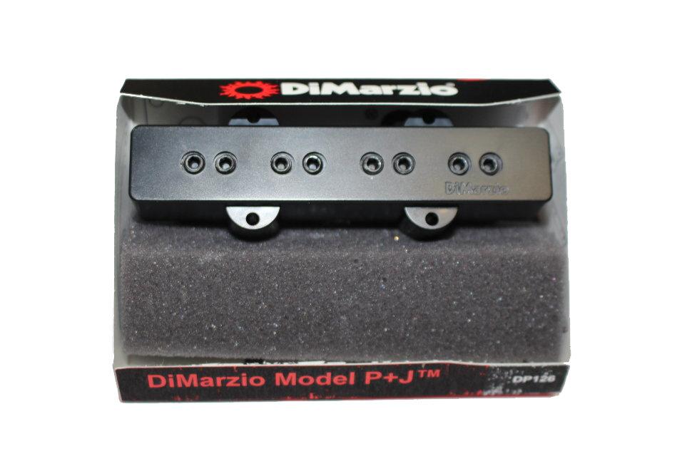 DIMARZIO DP126BK Model P+J Набор звукоснимателей