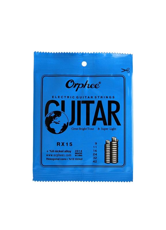 ORPHEE RX15 Струны для электрогитары 09-42