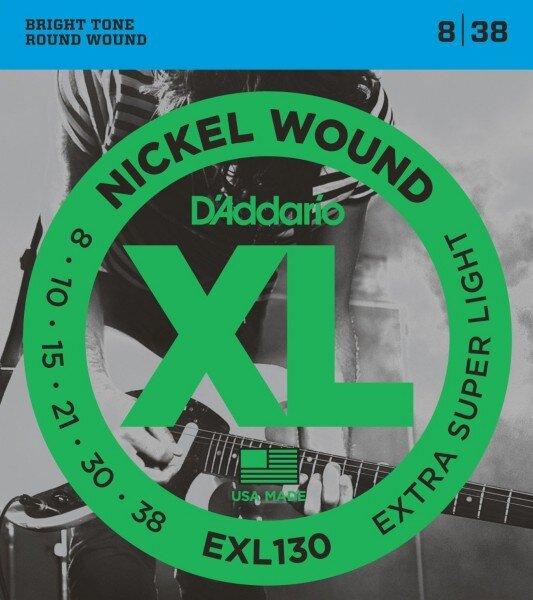 D`ADDARIO EXL130 008-038