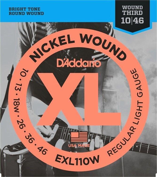 D`ADDARIO EXL-110W 010-046