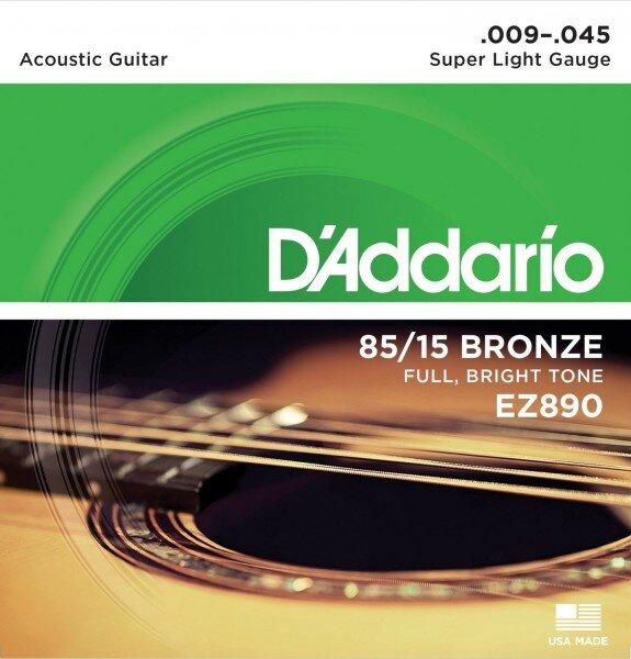 D`ADDARIO EZ890 009-045
