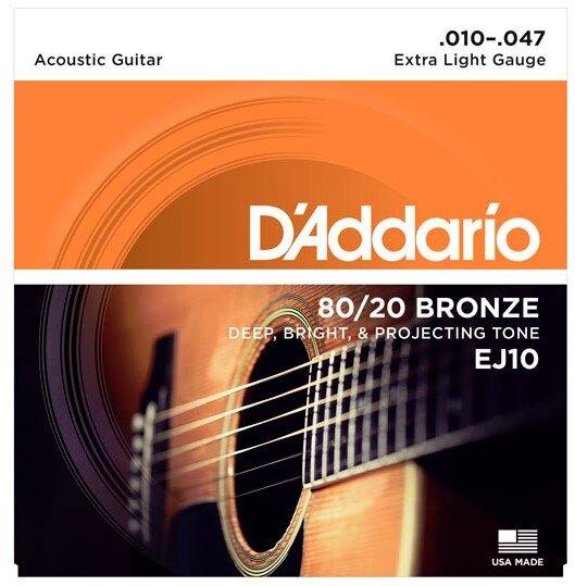 D`ADDARIO EJ-10 010-047