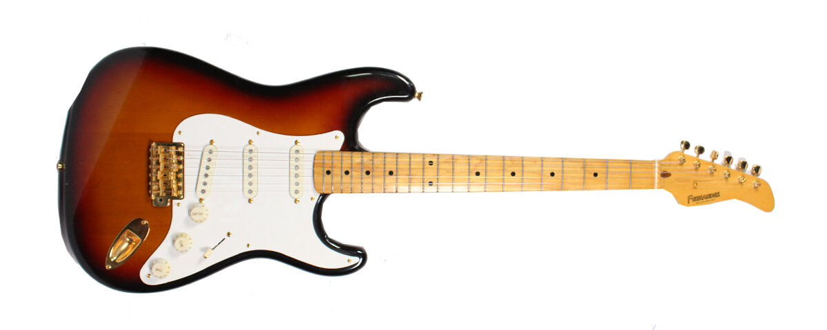 Fernandes stratocaster Электрогитара