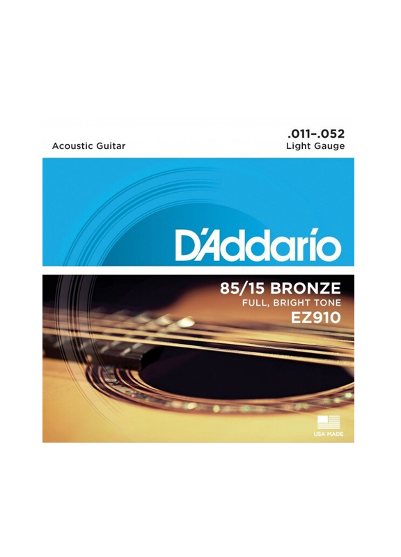 D`ADDARIO EZ910 011-052