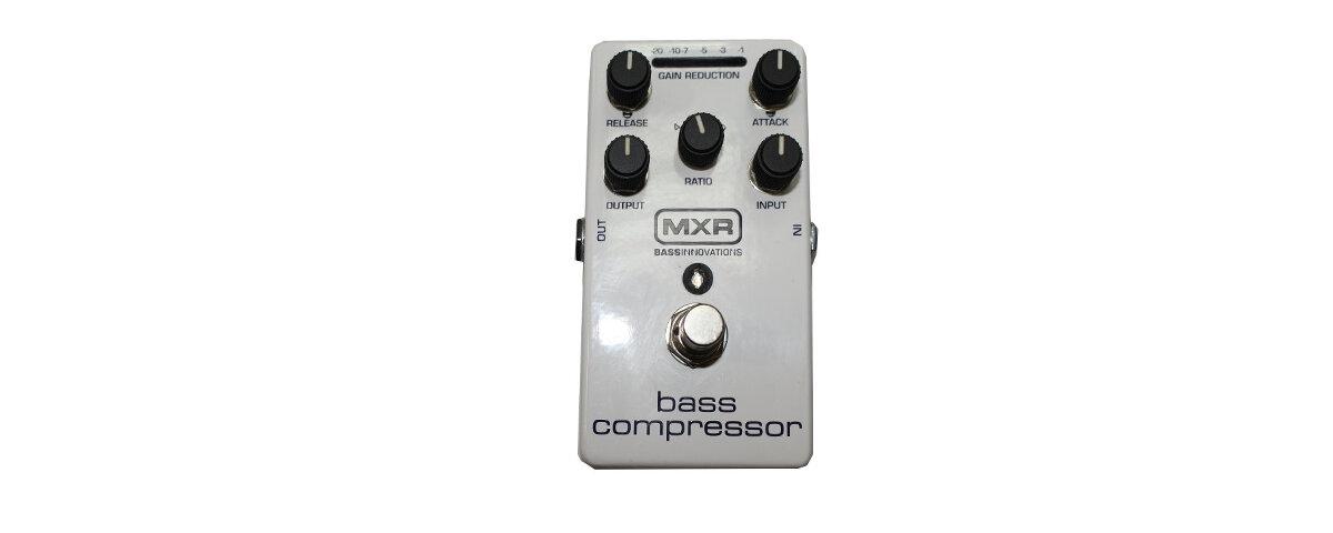 DUNLOP MXR BASS COMPRESSOR M87 Педаль бас-гитарная