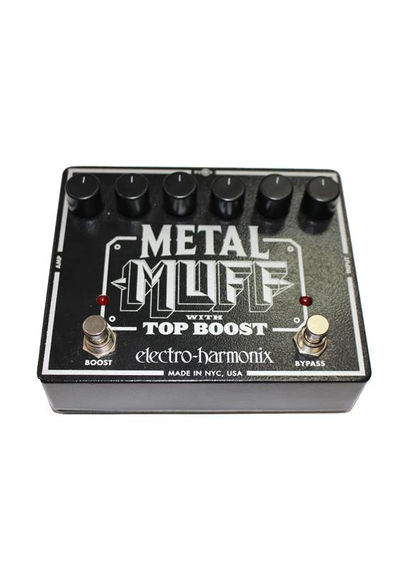 ELECTRO-HARMONIX METAL MUFF WITH TOP BOOST Педаль гитарная