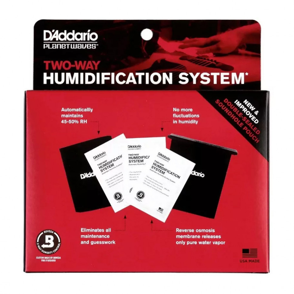 D`ADDARIO PW-HPK-01 Humidipack Система контроля влажности