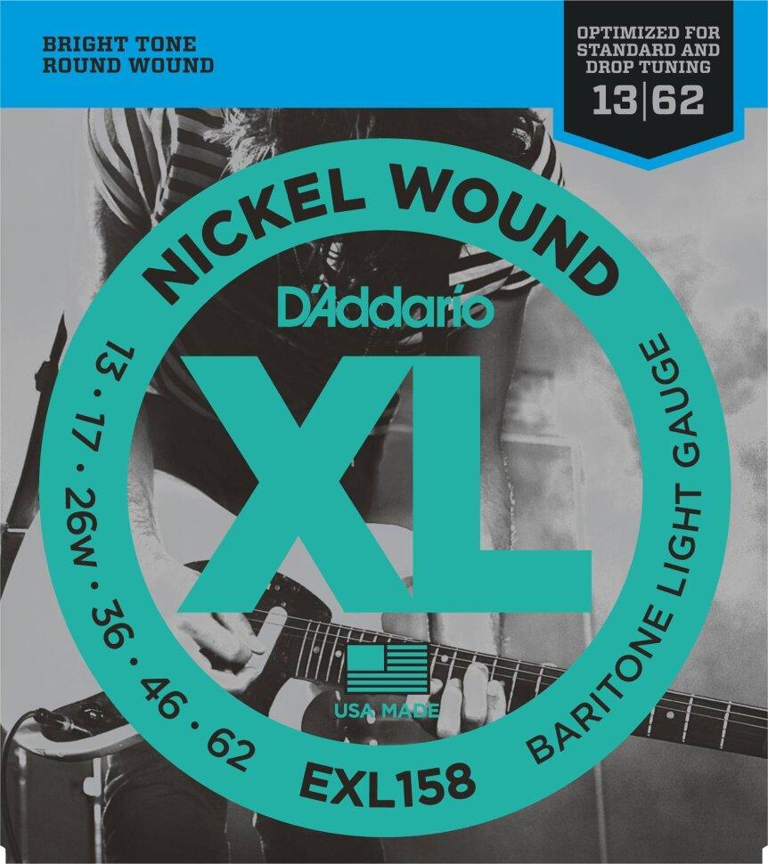 D`ADDARIO EXL158 013-062